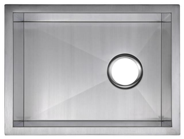 15   x 20   zero radius single bowl stainless steel undermount bar sink modern  15   x 20   single basin undermount stainless steel kitchen sink      rh   houzz com