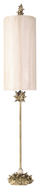 Nettle Luxe Floor Lamp, Gold