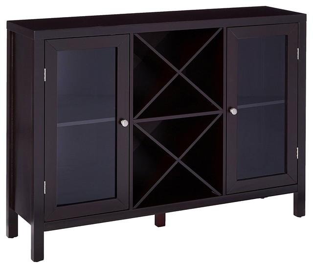 Williamson Sideboard With Wine Storage Espresso