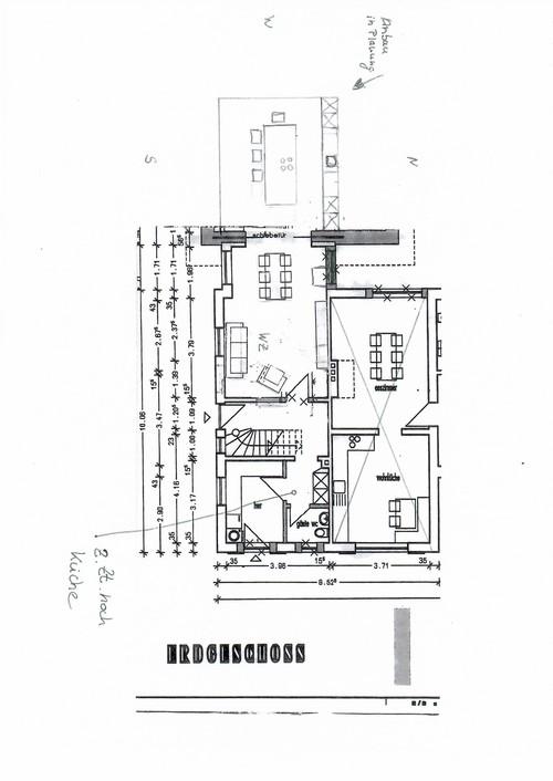 Elegant Ein Halbes Haus Macht Kopfzerbrechen  Anbau/Innenraumplannung