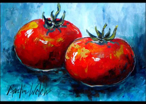Vegetables, Tomatoes Red Toes Indoor/outdoor Doormat, 18x27.
