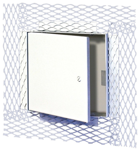 "12""x12"" Recessed Ceiling Or Wall Access Door For Plaster, Mifab."