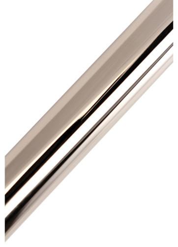Shop Houzz Kingston Brass Americana 72 Adjustable Stainless Steel Tube For Shower Rod