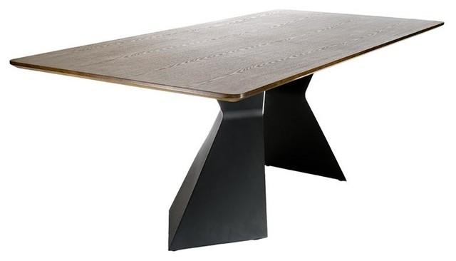 Troie Modern Wooden Dining Table