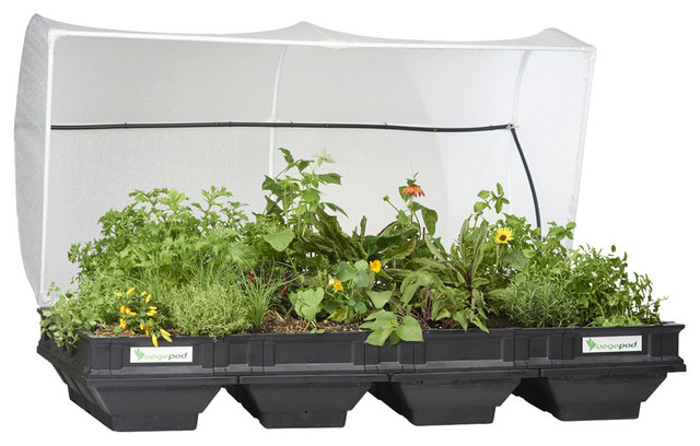 Vegepod, Raised Garden Bed Kit With Cover, Large