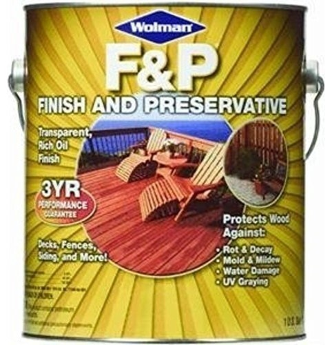 Redwood Wood Stain Finish And Preservative 1 Gallon