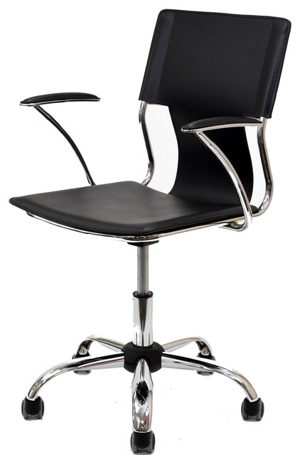studio office chair black contemporary office chairs by beverly