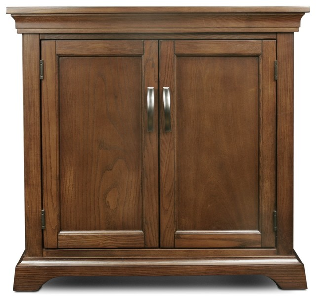 Leick Home Leick Furniture Favorite Finds Foyer Cabinet/Hall Stand W/Adjustable Shelf - Accent ...