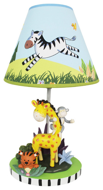 Perfect Sunny Safari Kids Table Lamp Contemporary Kids Lamps