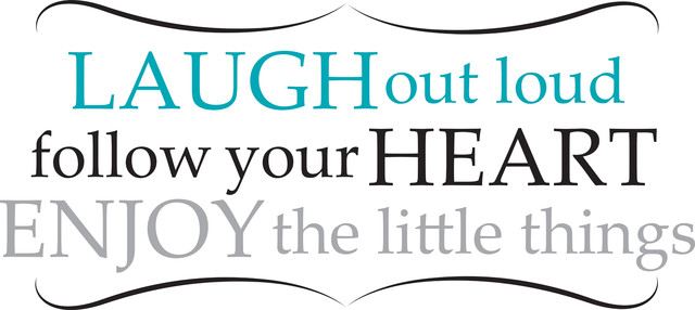 Quotes About Happiness And Laughter Captivating Laugh Out Loud Wall Quote Decals  Contemporary  Wall Decals .