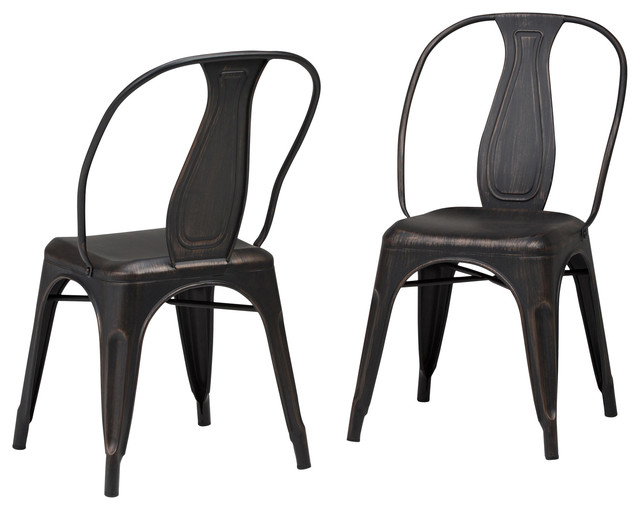 Metal Dining Arm Chair