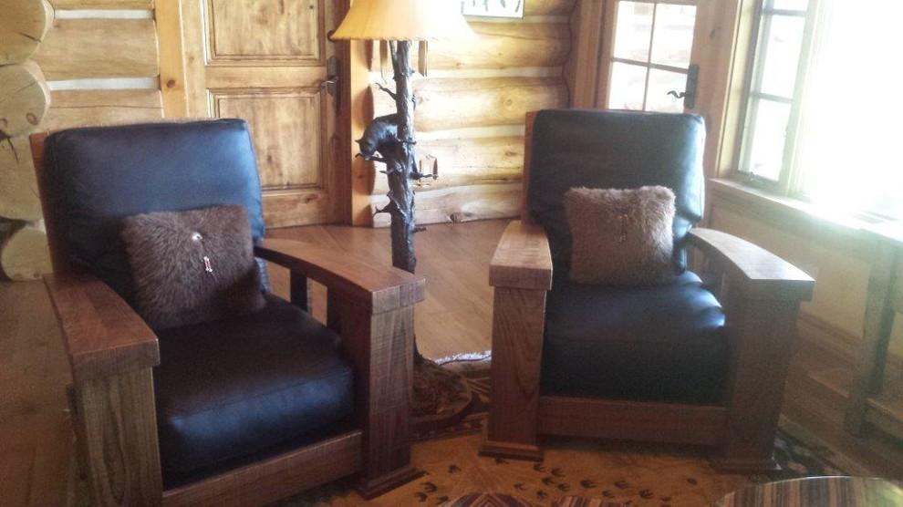 Log Home Remodel, Sunriver
