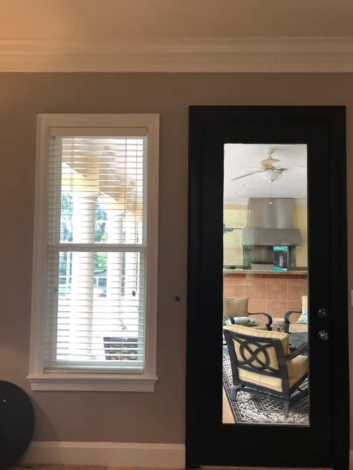 Black Interior Doors And Door Trim