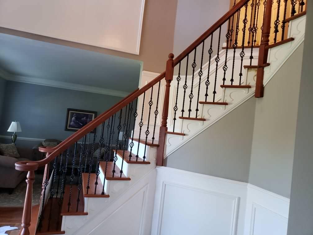 Staircase & Railing Refinishing in Ringoes, NJ