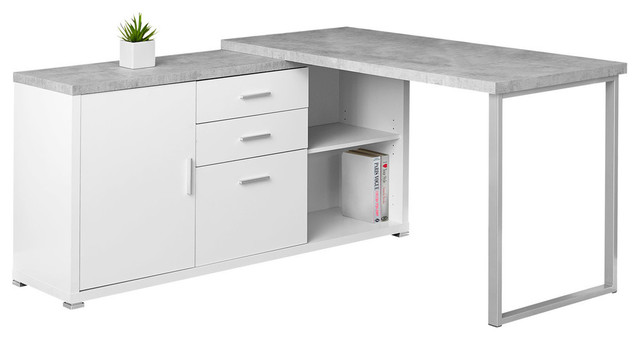 Monte Vista Computer Desk, White.