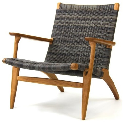Roxanne Outdoor Chair Eclectic Outdoor Lounge Chairs by satara