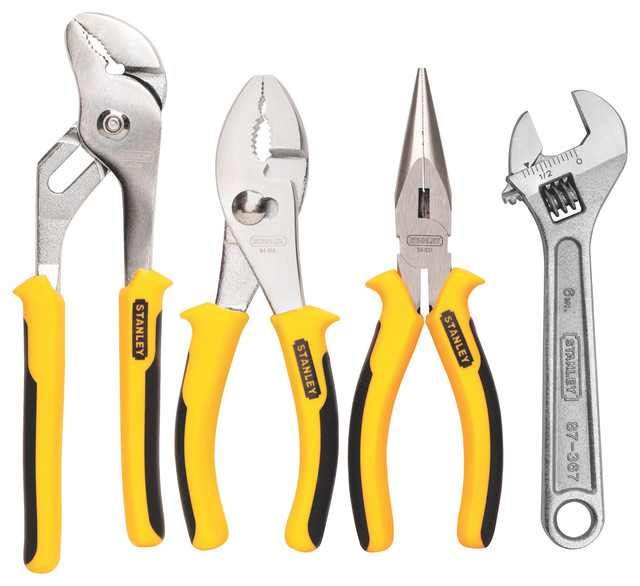 Stanley 84-558 4 Piece Plier Set.