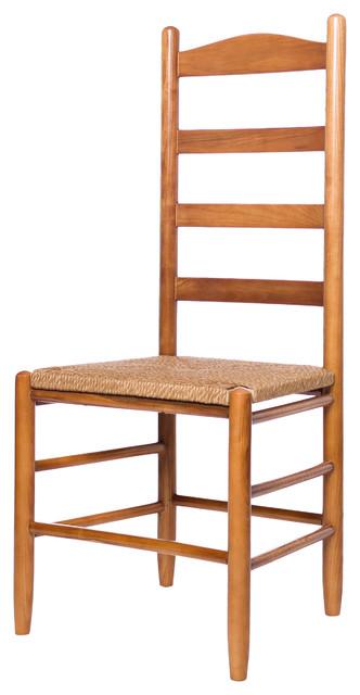 Penrose Ladderback Chair, Medium Oak