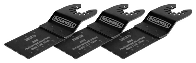 A LOT OF 2  Rockwell Sonicrafter Universal End Cut Blade  RW8935