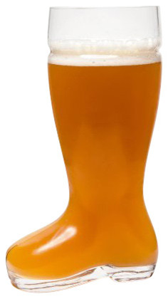 High Quality Oktoberfest Style Glass Beer Boot, Das Boot