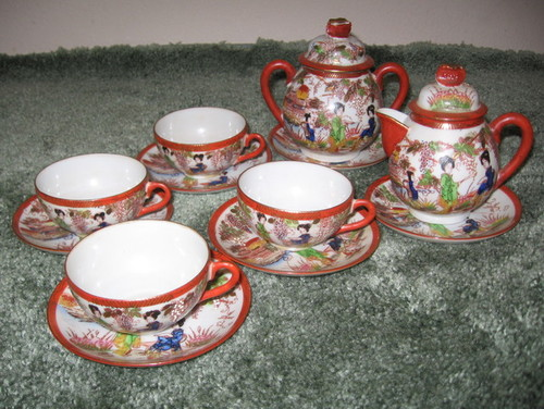 Value of Antique Geisha Tea Set?