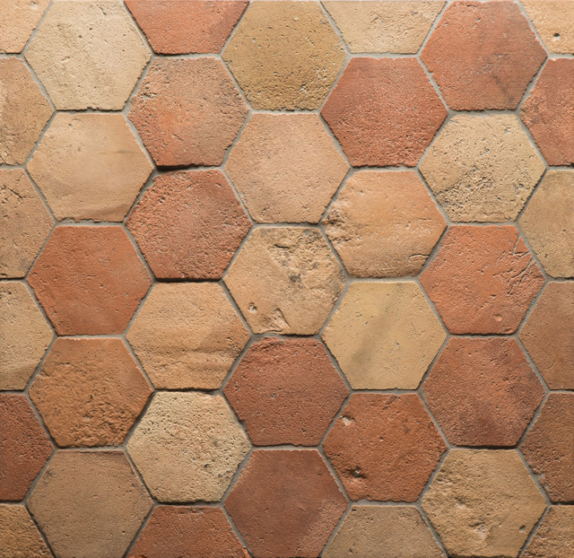 Antique Terracotta Hexagon 6 Quot X 6 Quot In