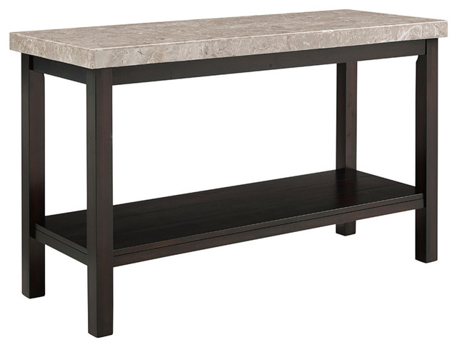 Caleb Marble Top Console Table