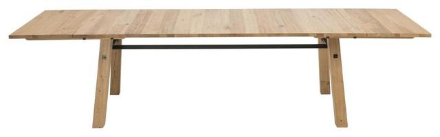 Stockhelm Wild Oak Extending Dining Table, 2.1 m