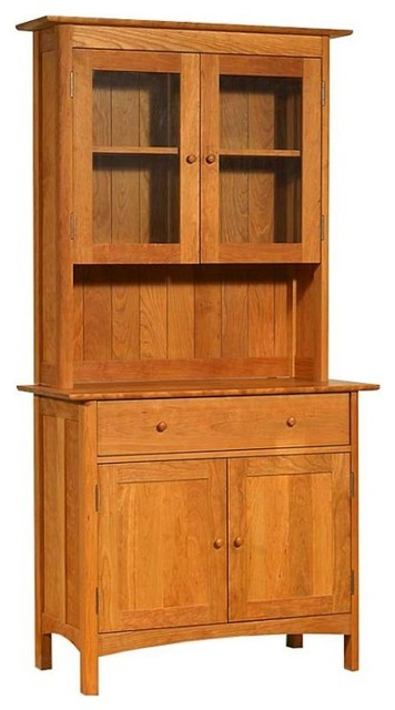 modern shaker small buffet u0026 hutch