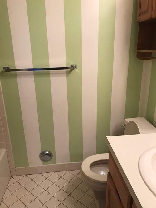 Favorite Renovating two bathrooms with almond tub and toilets. LD84