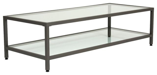 rectangle glass coffee table Rhea Table   Transitional   Coffee Tables   by ergode rectangle glass coffee table
