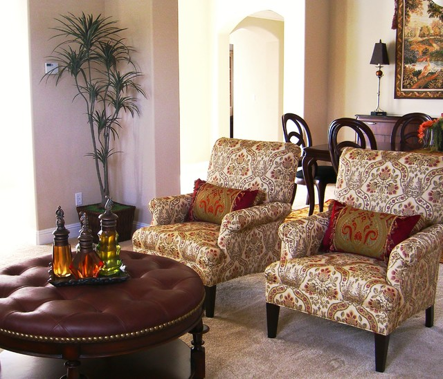 Fabulous Chairs and Ottoman - Traditional - San Francisco - by ...