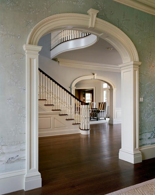 Entry Foyers Checkerboard Vs Hardwood Flooring