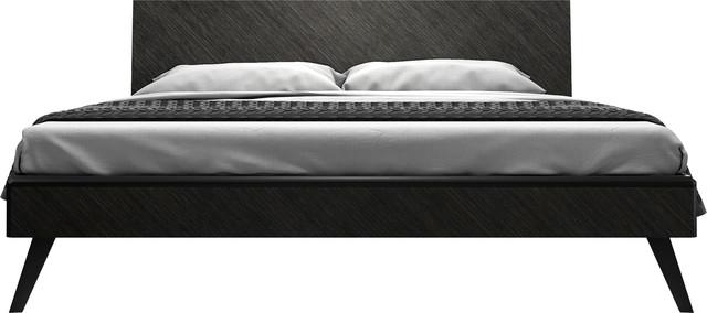 Rivington Bed, Gray Oak, King.