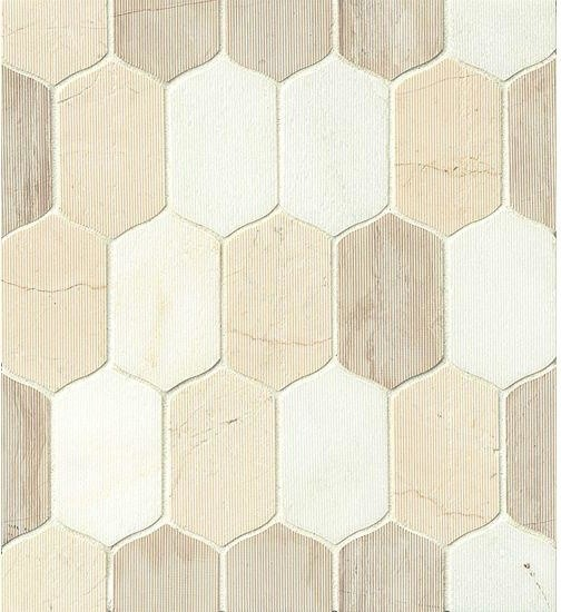 Aesthetic Design European Egzotic Marble Luxembourg Mosaic