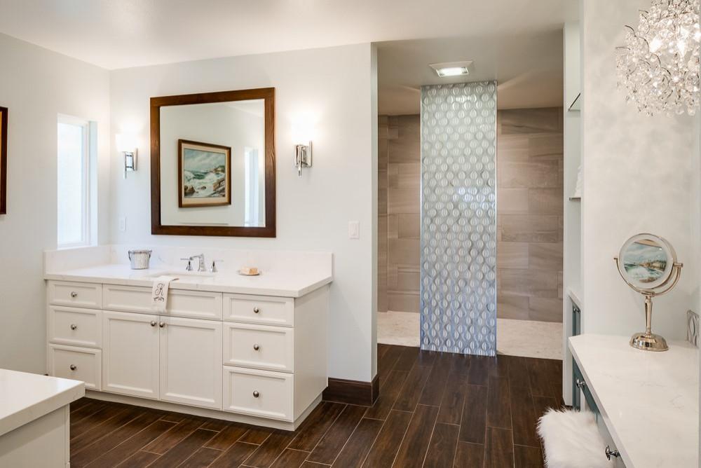 Elegant Solana Beach Master Bathroom Transformation
