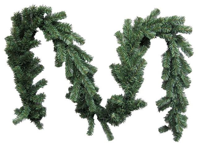 Christmas Pine Garland.180 Tips Canadian Christmas Pine 9 Feet X 10 W Garland