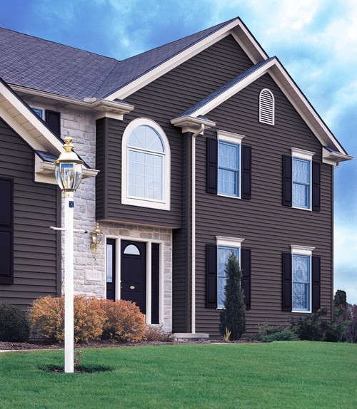 Do You Like The Added Curb Appeal Of Dark Colored Siding