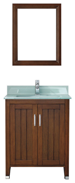 Jackie 28 Quot Vanity Set Contemporary Bathroom Vanities And Sink Consoles By Studio Bathe