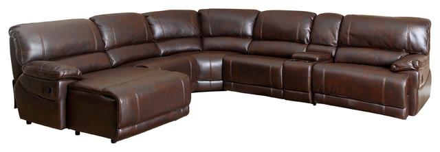 Abbyson Living Ryan 6-Piece Sectional Sofa