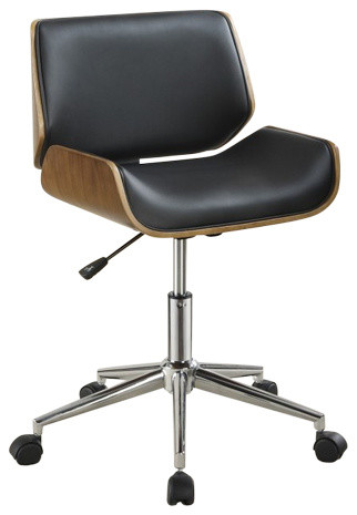 Coaster Office Chair Black  sc 1 st  Houzz & Coaster Furniture Office Chair - Contemporary - Office Chairs - by ...