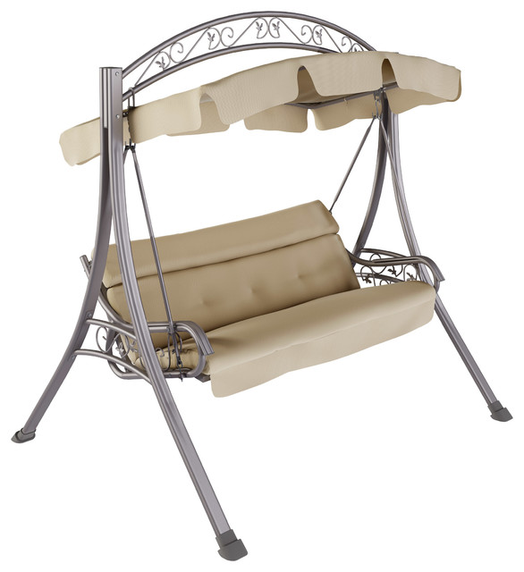 Hanover Orleans 3-Piece Swivel Rocking Chat Set In Avocado Green