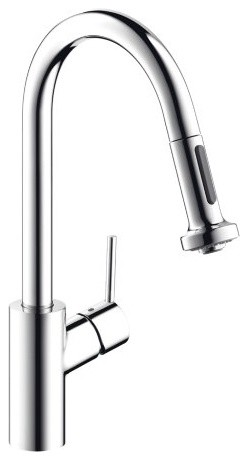 Hansgrohe Pull-Down Kitchen Faucet, Chrome.