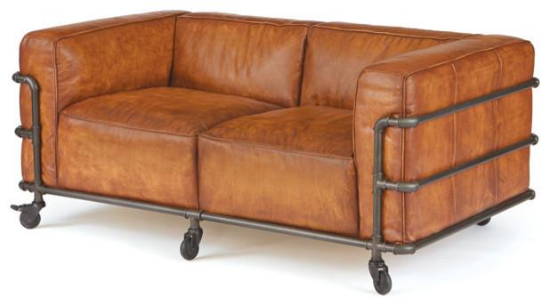 indigo sofa industrial sofas by autumn elle design. Black Bedroom Furniture Sets. Home Design Ideas
