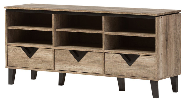 wales light brown wood 55 tv stand - Light Colored Tv Stands