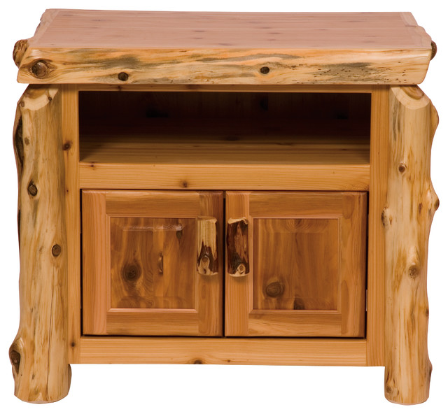 Shop Houzz | Fireside Lodge Furniture Company Cedar Television Stand - Entertainment Centers And ...