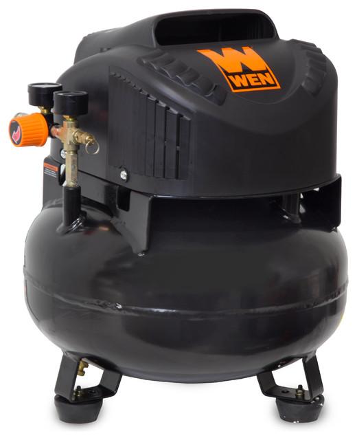 6-Gallon Oil-Free Pancake Air Compressor.