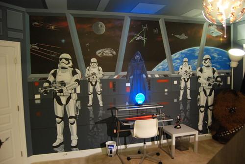 Custom Star Wars Mural