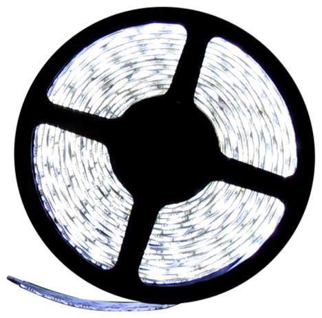 Full Spectrum White Flexible LED Light Strip 16' 6500K, Reel Only