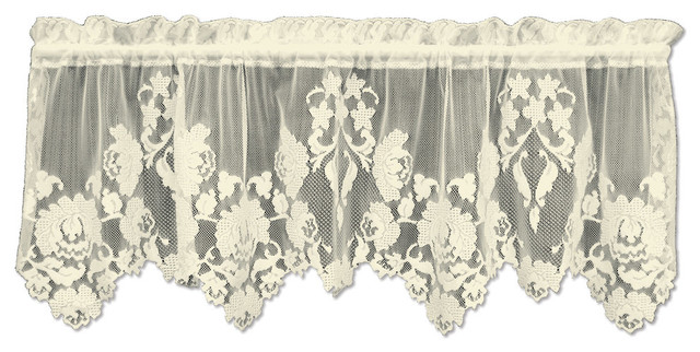 Windsor Valance, Ecru.